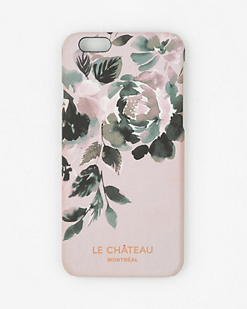 Floral Print Case for iPhone 6/6s