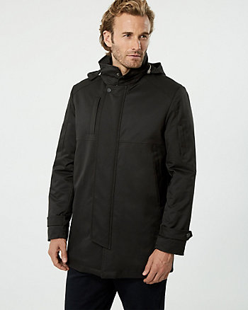 Nylon Car Coat
