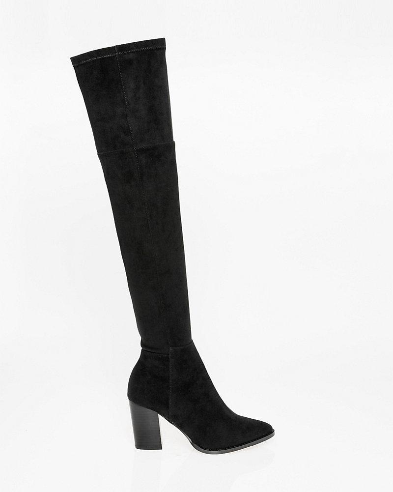 7815fd244c3 Stretch Thigh-High Boot