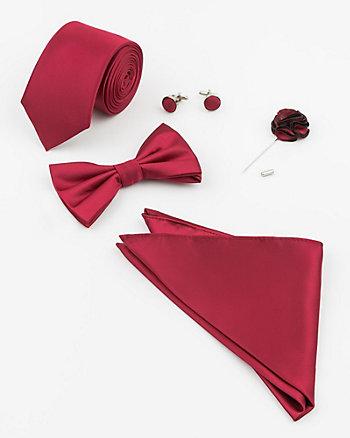 Five Piece Tie & Bow Tie Set