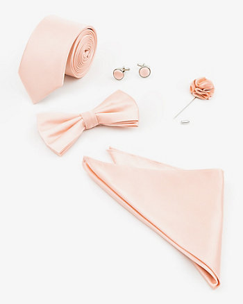 Five Piece Tie & Bow Tie Set