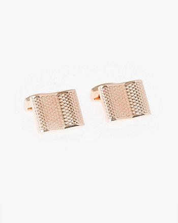 Metal Rectangle Cufflinks