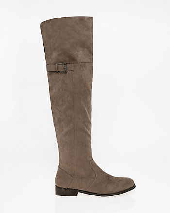 Round Toe Over-the-Knee Boot