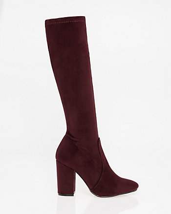 Stretch Knee-High Boot