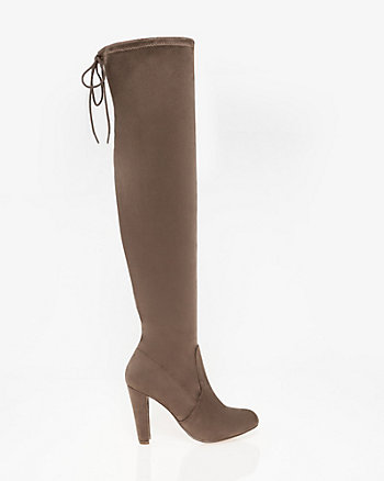 Stretch Thigh-High Boot