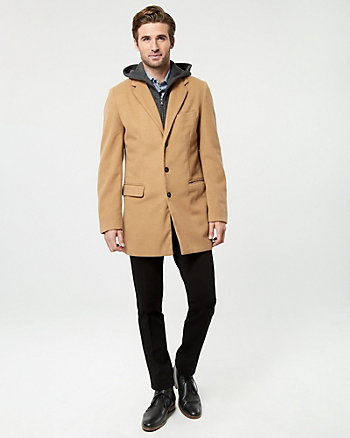 Cashmere-Like Car Coat