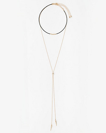 Choker & Slider Necklace