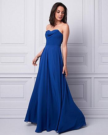 Chiffon Sweetheart Gown