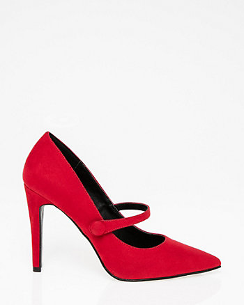 Pointy Toe Mary Jane Pump