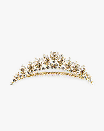 Gem Tiara Hair Comb