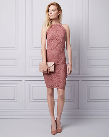 Sparkle Lace Cocktail Dress