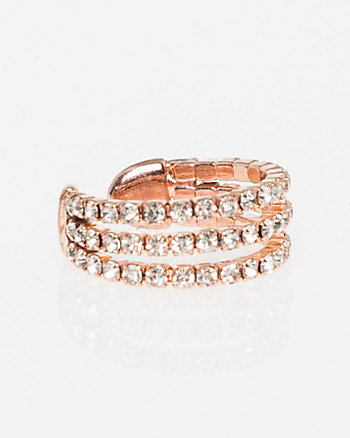 Multi-Row Gem Ring