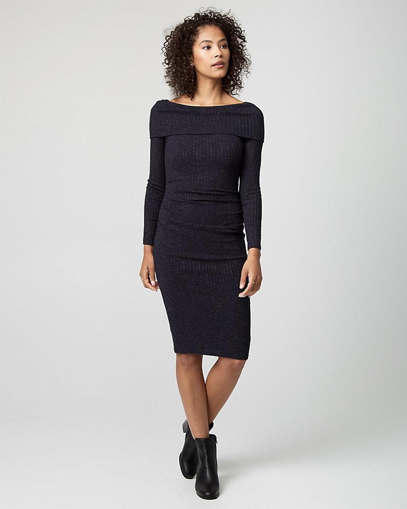 a4373a05c838 Rib Knit Sweater Dress