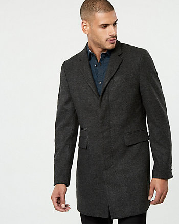 Tweed Crombie Coat