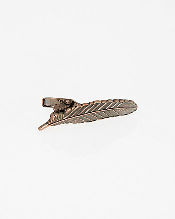 Feather Tie Clip