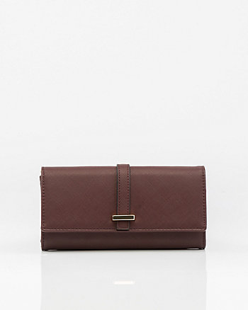 Saffiano Leather-Like Wallet