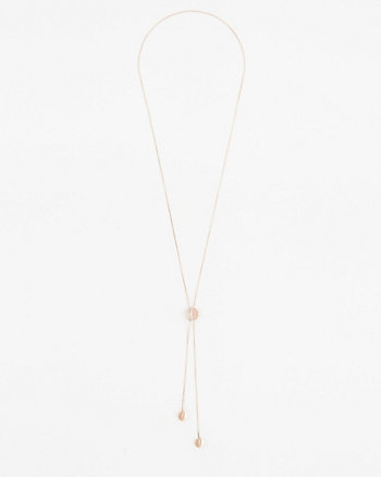 Slider Y-Necklace
