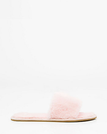 Faux Fur Slide Slipper