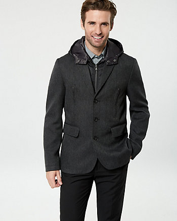 Twill Notch Collar Jacket