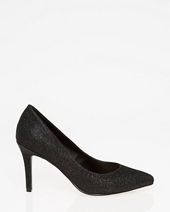 Metallic Pointy Toe Pump