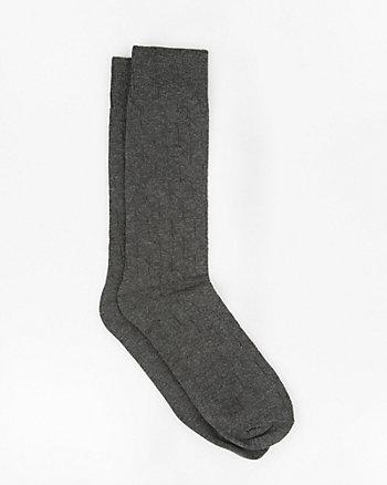 Geo Print Bamboo Blend Socks