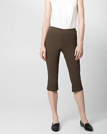 Bengaline Straight Leg Crop Pant