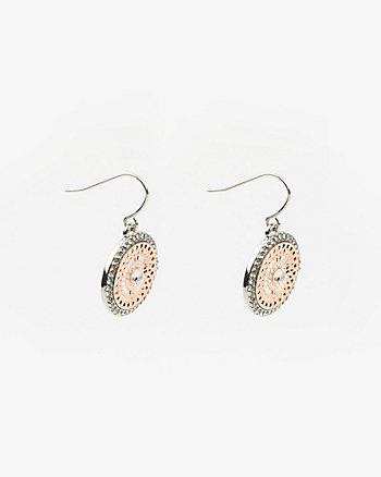 Filigree Gem Earrings