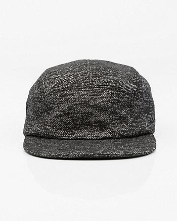 Cotton Blend Marled Cap
