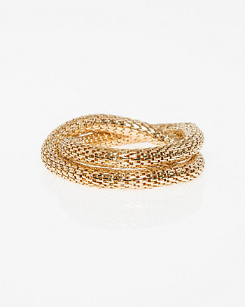 Snake Chain Stretch Bracelet