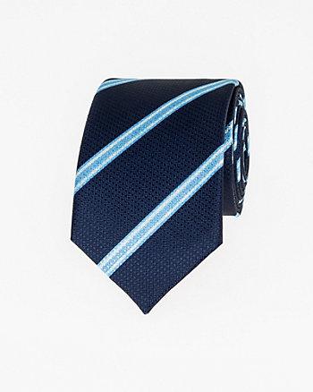 Stripe Microfibre Skinny Tie