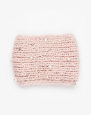 Embellished Knit Headband