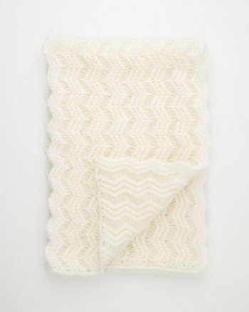 Crochet Knit Scarf