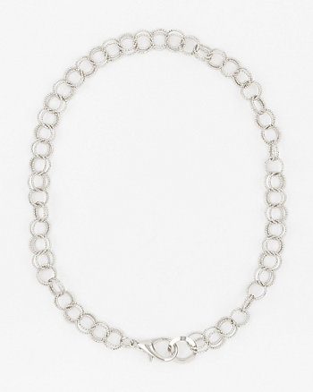 Etched Collarbone Necklace