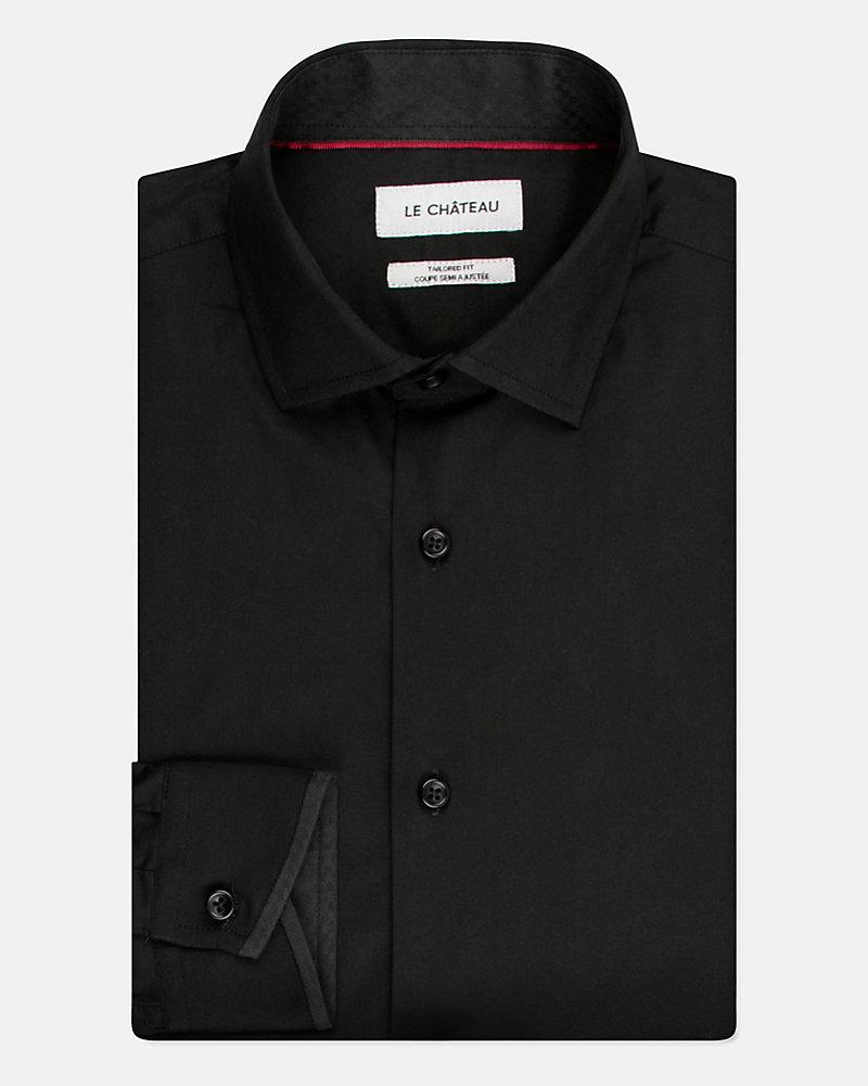 cd5e1d693 Cotton Poplin Tailored Fit Shirt