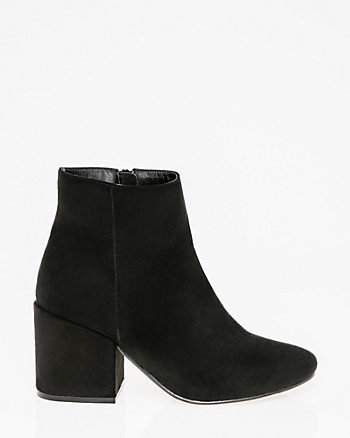 Almond Toe Ankle Boot