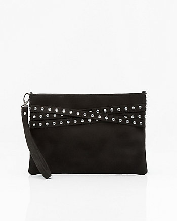 Jewelled Pouch with Crossbody Strap