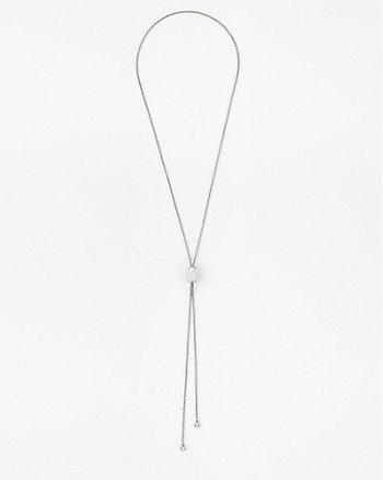 Gem Slider Y-Necklace