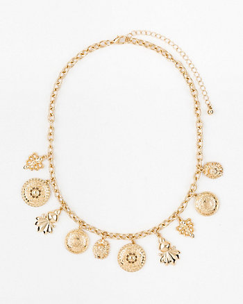 Charm Collarbone Necklace