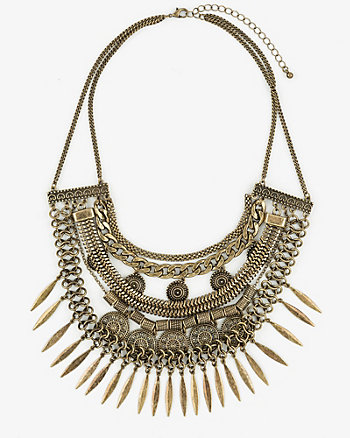 Metal Filigree Necklace
