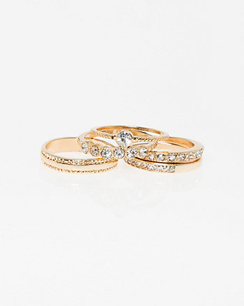 Set of Five Stackable Rings