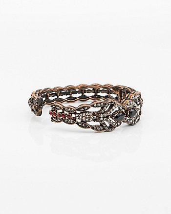 Gem Hinge Bracelet