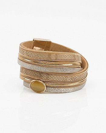 Gem Wrap Bracelet