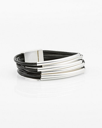 Metal Band Magnetic Bracelet