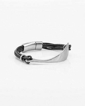 Metal Band Magnetic Bracelet