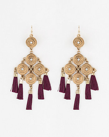 Tassel Trapezoid Earrings