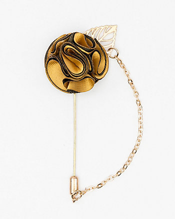 Flower Chain Lapel Pin