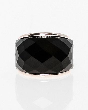 Cabochon Gem Ring