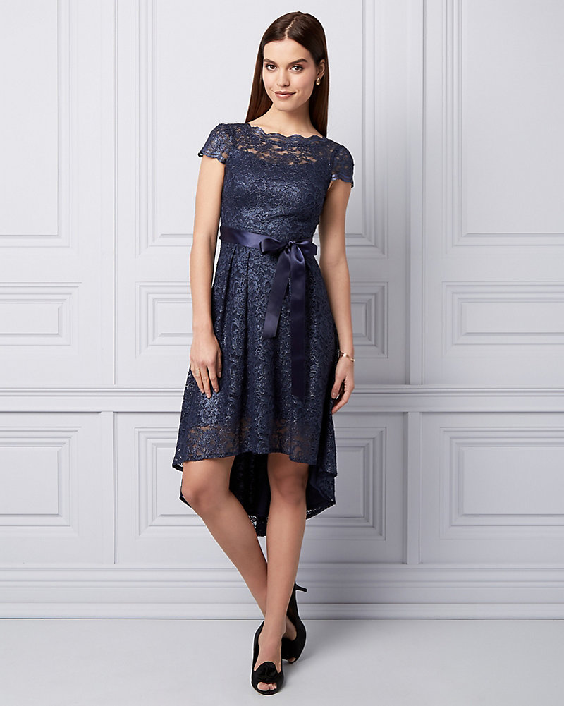 Cocktail le chteau lace high low cocktail dress ombrellifo Image collections