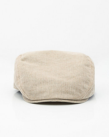 Linen Ivy Cap
