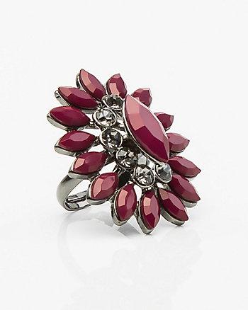 Floral Gem Ring
